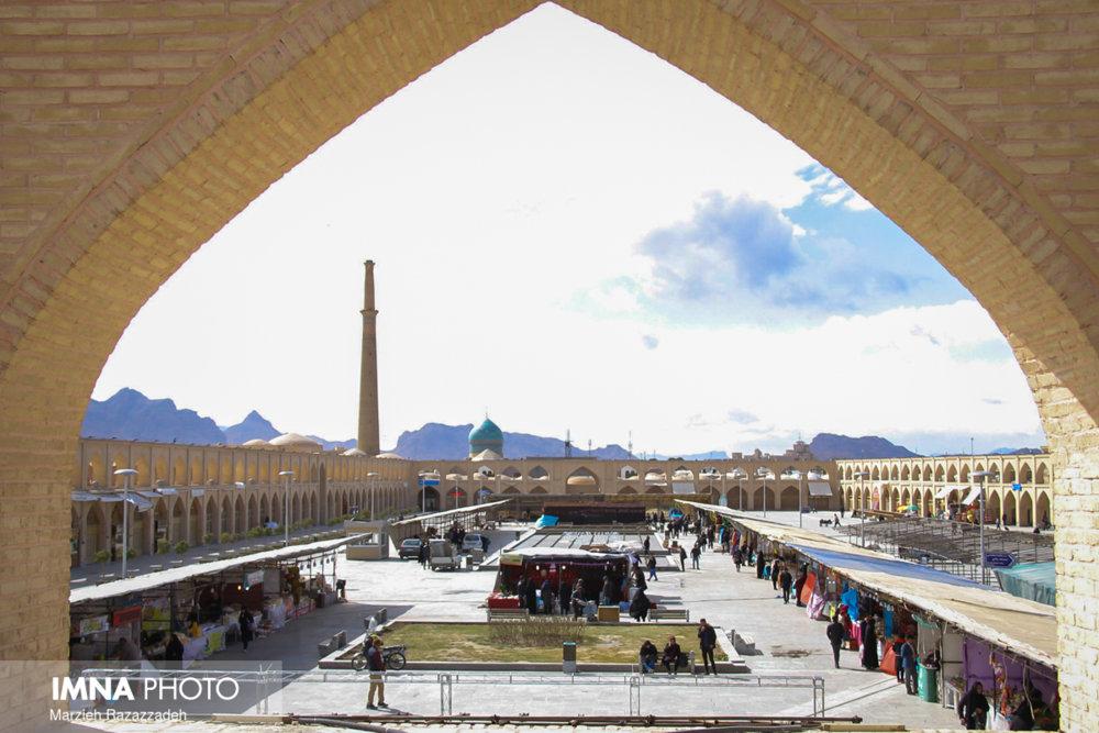 بازسازی مجدد بام سبز میدان امام علی(ع)