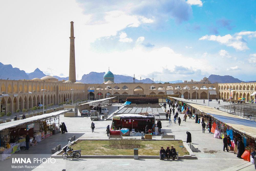 پیشرفت ۹۰ درصدی پروژه میدان امام علی (ع)