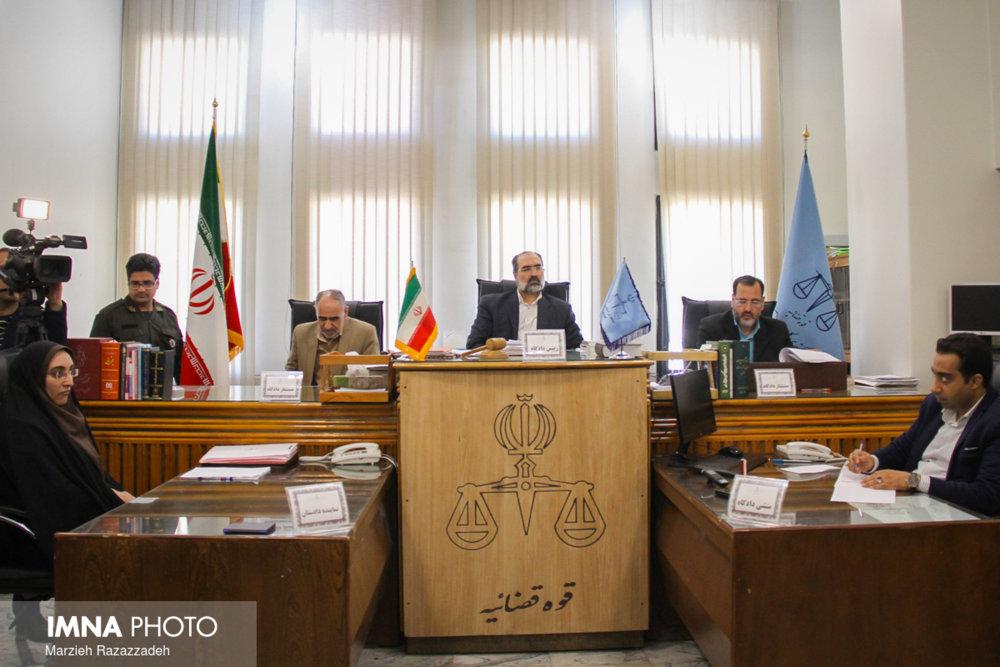 """دادگاه علنی """"مصطفی فتل"""" قاتل شهید شاهسنایی برگزار شد"""