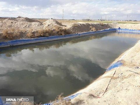 استفاده از استخرهای تنظیمی برای آبیاری زمینهای کشاورزی