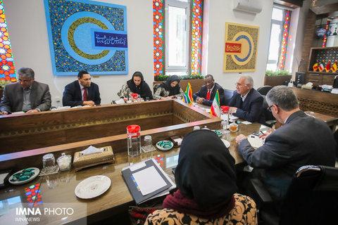 دیدار سفیر افریقا جنوبی با شهردار اصفهان