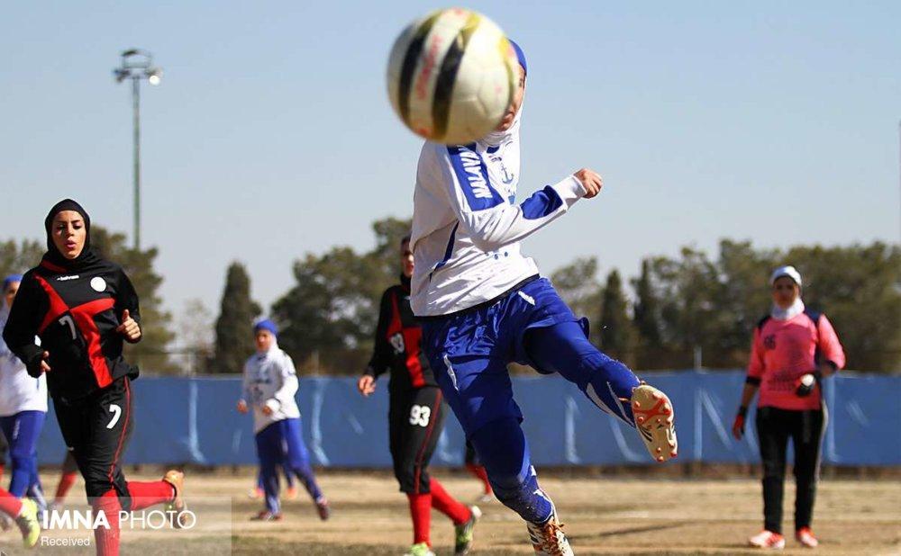 ۴ بانوی فوتبالیست اصفهان در لیست خسرویار