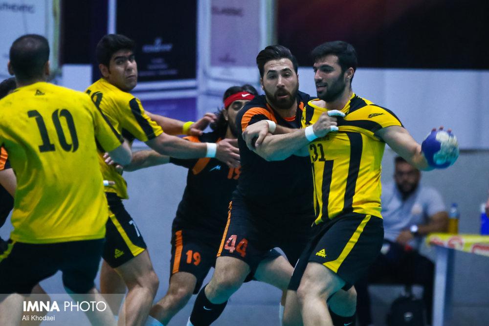 تیم هندبال سپاهان نماینده ایران در آسیا