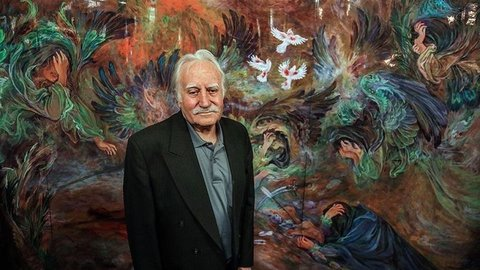زندگی نامه محمود فرشچیان + عکس و آثار