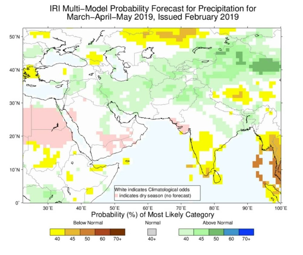 بارشهای پاییز امسال بالاتر از حد نرمال خواهد بود