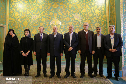 Prime minister of Armenia in Isfahan