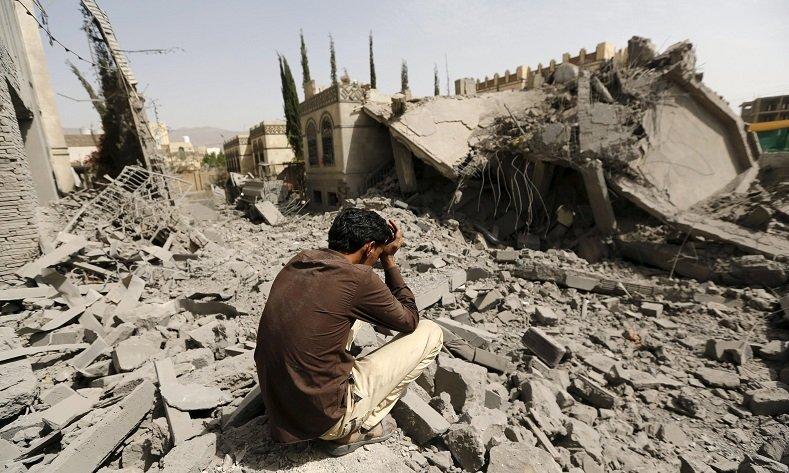 حمله ائتلاف متجاوز سعودی به صعده یمن