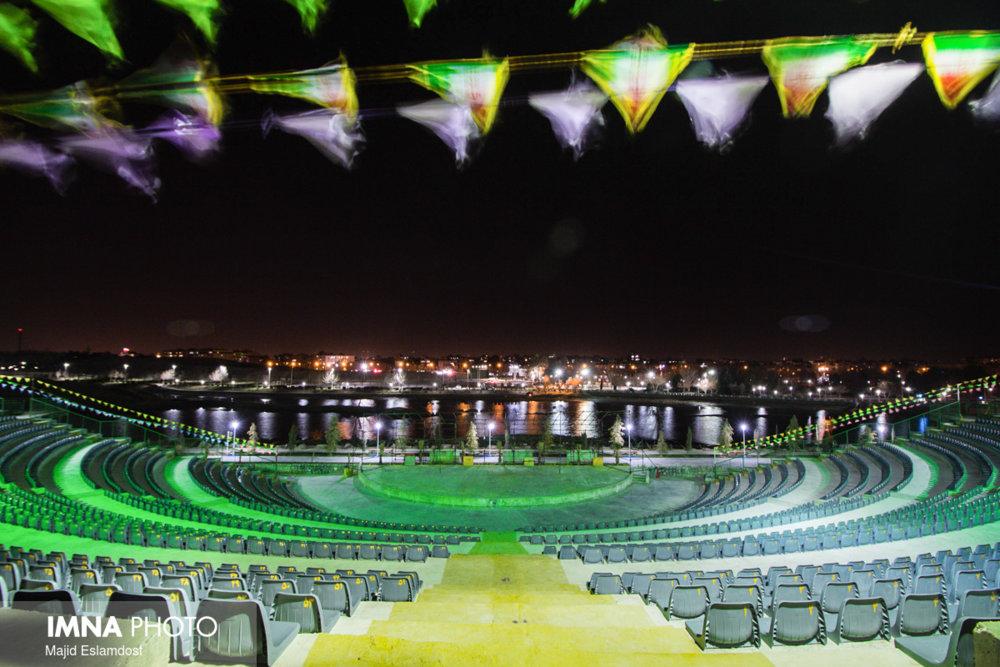 بزرگترین آمفی تئاتر روباز کشور در پردیس هنر