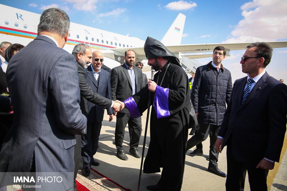 تقدیر میناسیان از تلاش های استانداری در جریان سفر نخست وزیر ارمنستان