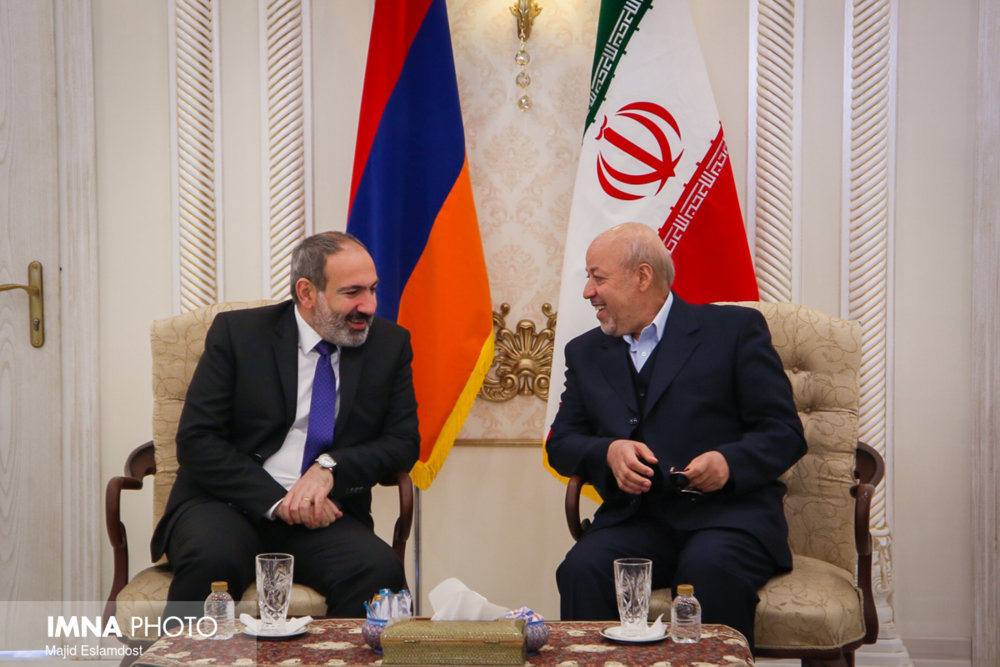 Armenian Prime Minister's visit to Isfahan