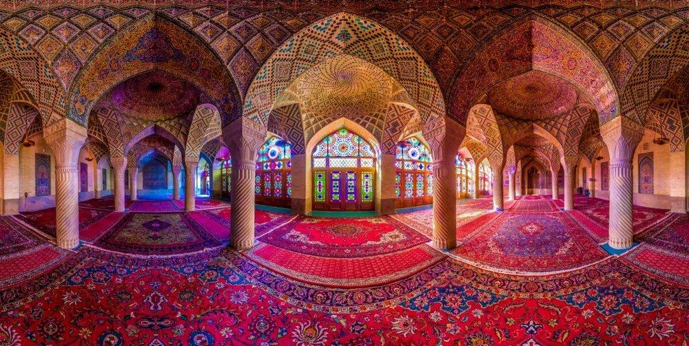 Nasir-al- Mulk Mosque; Iran's pink masterpiece