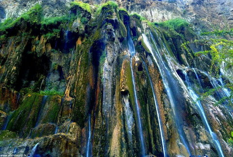 Margoon; Iran's largest waterfall