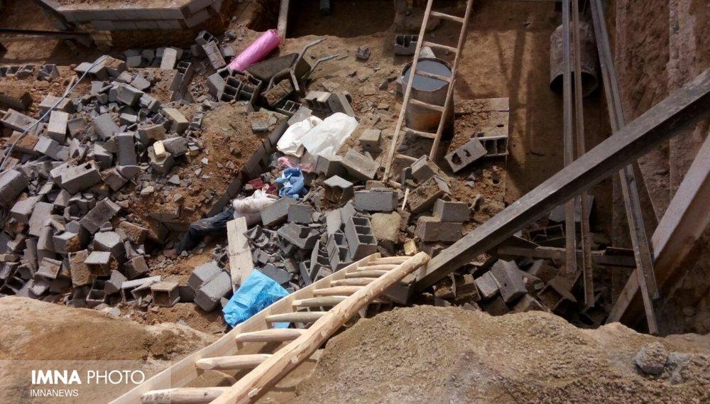 پسر ۱۳ ساله بر اثر ریزش ساختمان در قائمیه جان باخت
