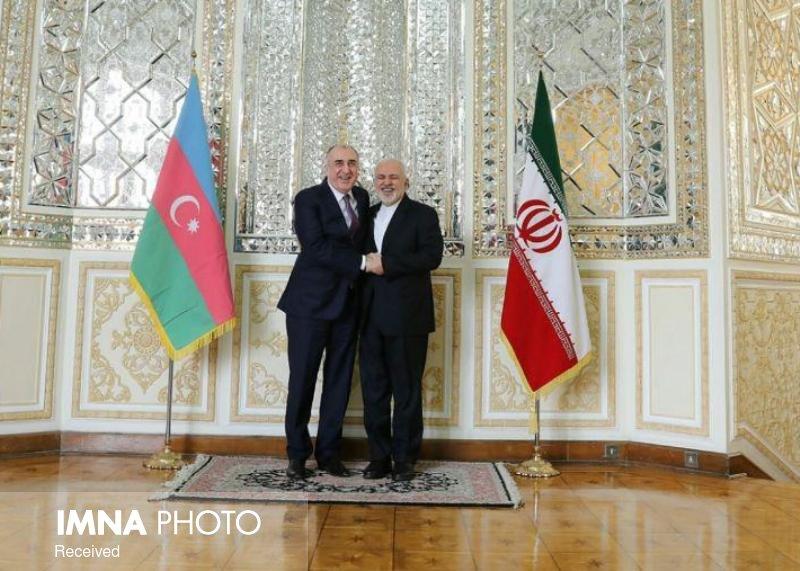 وزیر امور خارجه آذربایجان با ظریف دیدار کرد