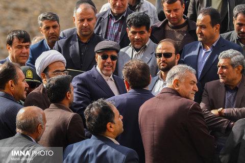 سفر یک روزه استاندار اصفهان به غرب استان