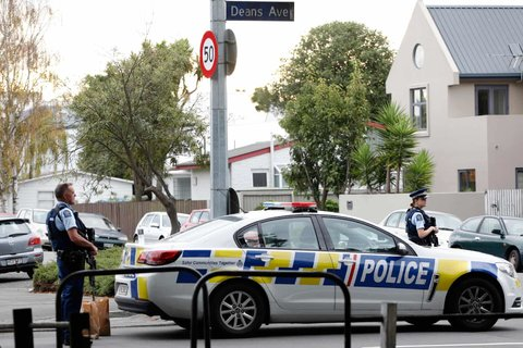 New Zealand terror attack at mosques in Christchurch