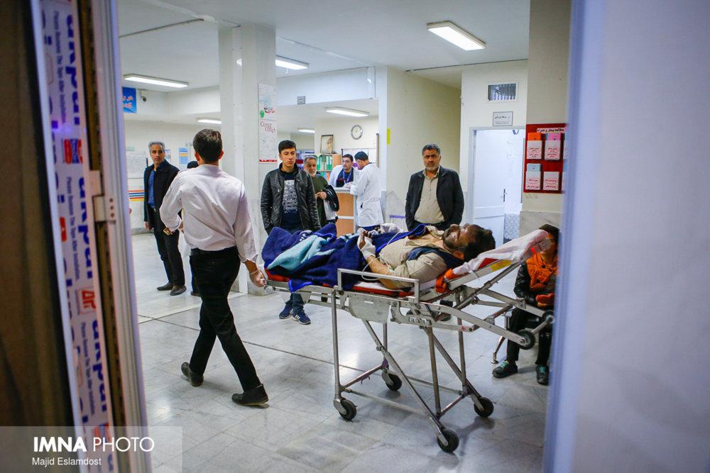 حوادث چهارشنبه سوری تاکنون ۵ مصدوم داشته است
