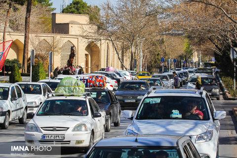 ۵۰۰ هزار مسافر طی چهار روز در شهر اصفهان اسکان یافتند