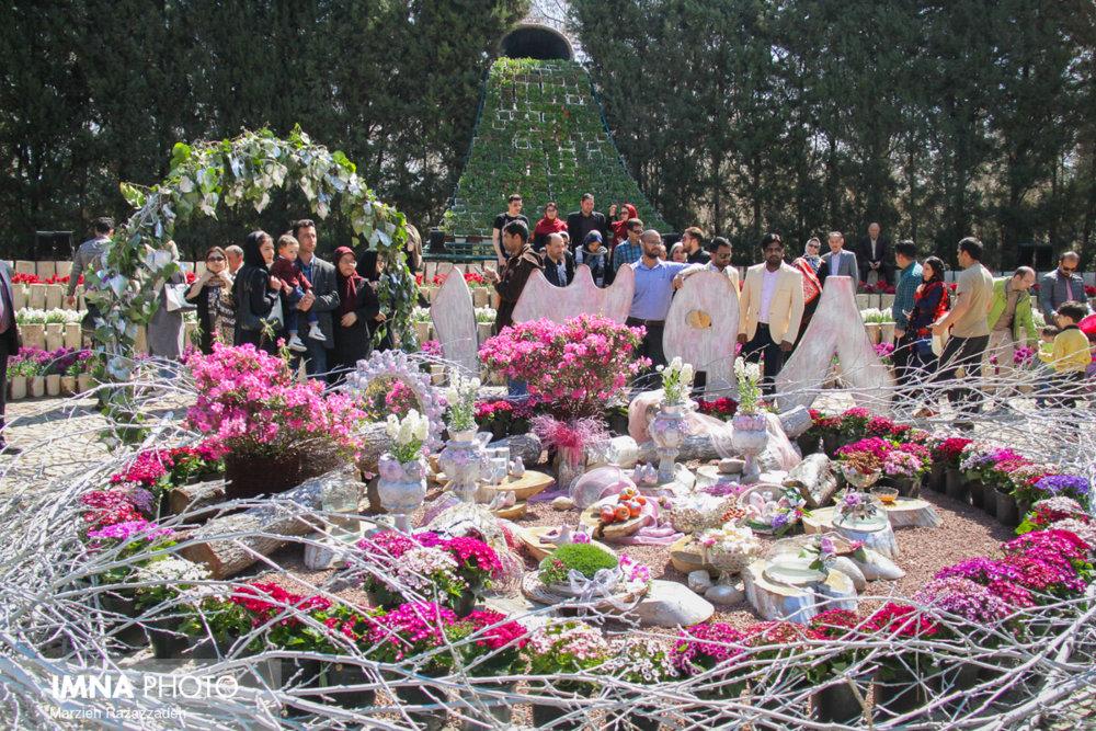 افزایش ۶ درصدی بازدید مسافران نوروزی از باغ گلها