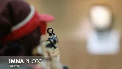 هفتمی تیم تفنگ درازکش زنان ایران در قهرمانی آسیا