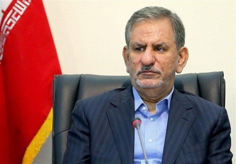 پیام تسلیت جهانگیری در پی واژگونی قایق امدادرسانی در استان گلستان