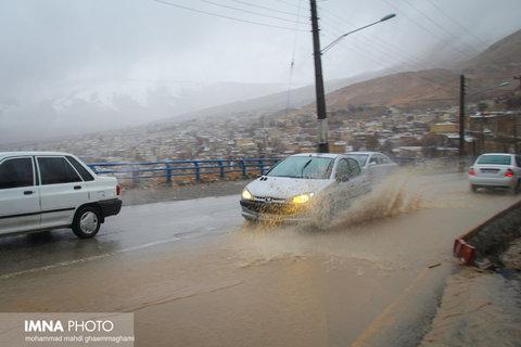 حجم بارندگی استانهای کشور از میانگین ۵۰ ساله فراتر رفت