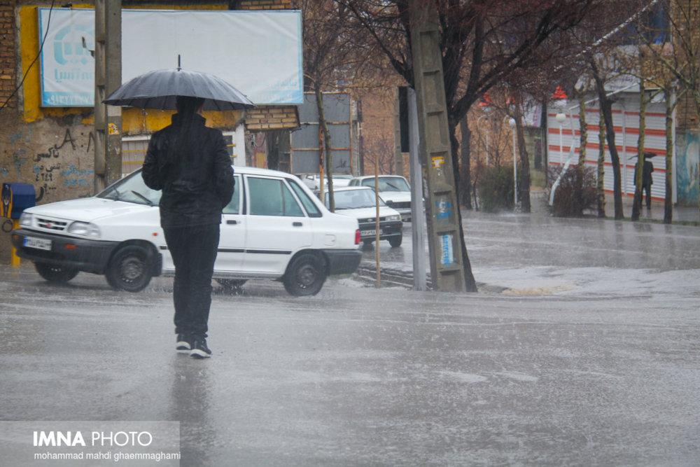 بارش شدید باران در ۱۵ استان کشور