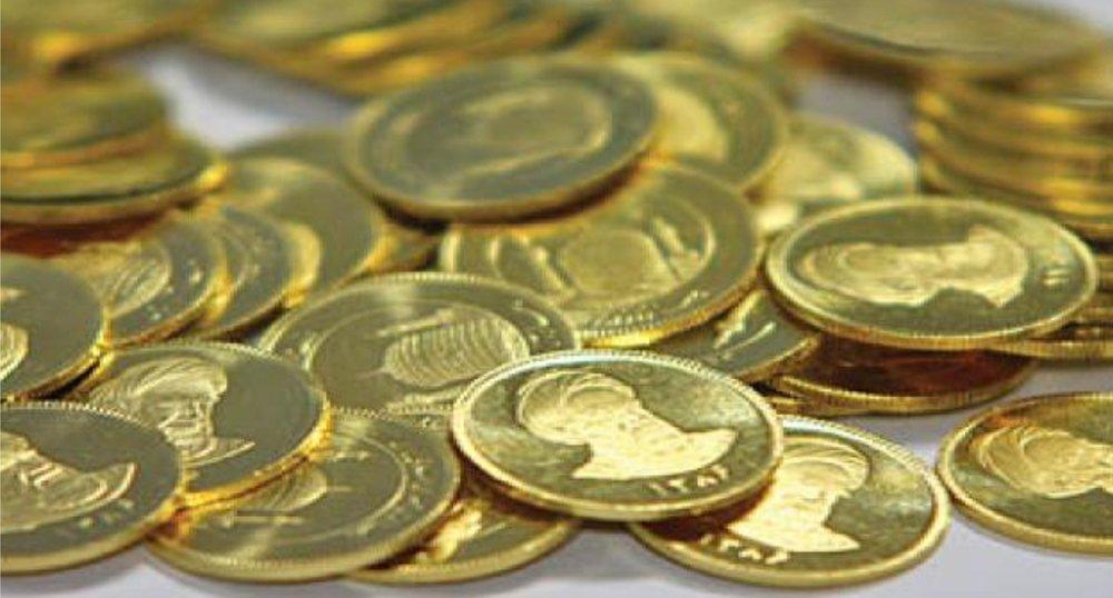 نمودار قیمت سکه امروز ۴ شهریور ۱۴۰۰