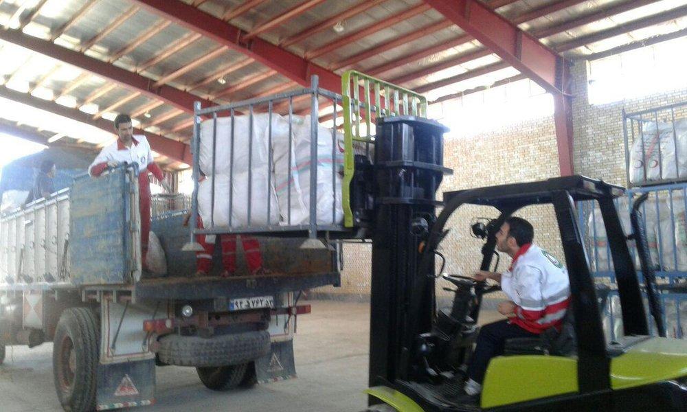 ارسال یک هزار تخته پتو برای کمک به سیلزدگان استان لرستان