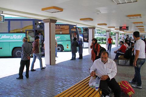 فعالیت ۲۴ ساعته پایانههای مسافربری برای خدمات رسانی به زائران