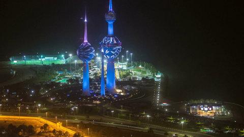 کویت، منزلگاه برجهای نمادین در جوار خلیج فارس