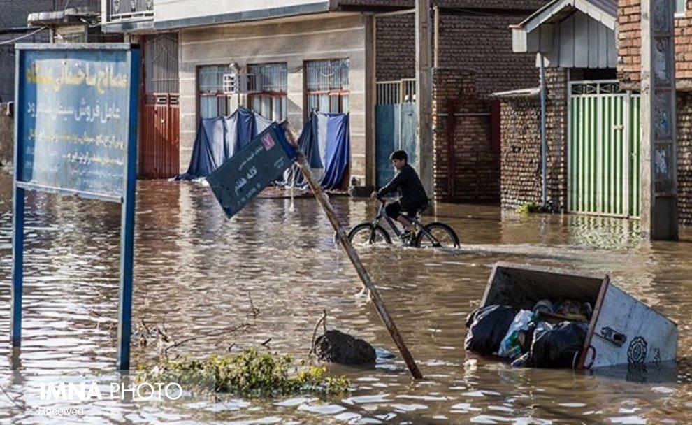 بهیکباره سیلاب