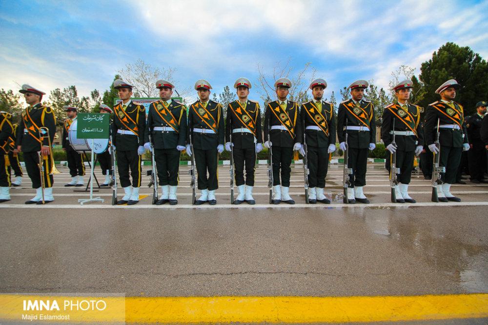 رژه کارکنان نیروی انتظامی استان اصفهان