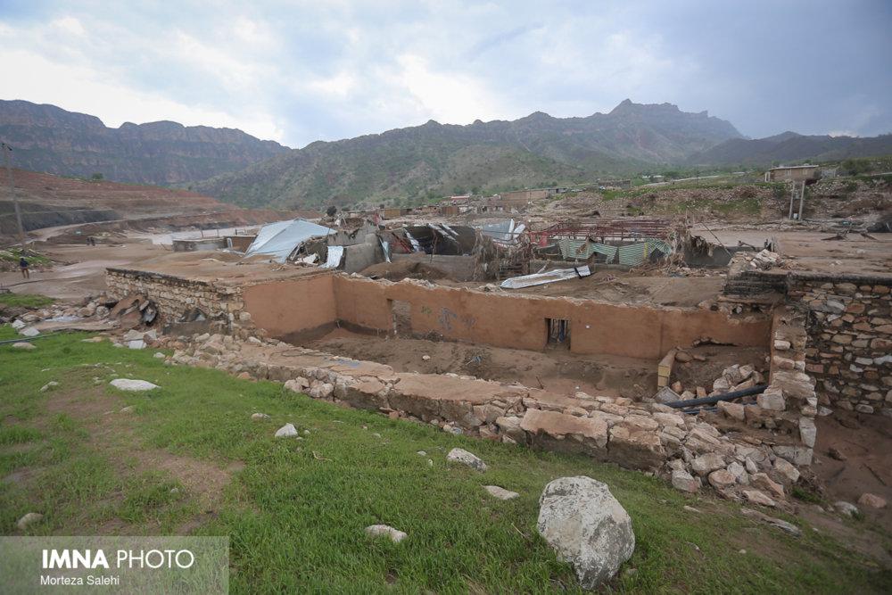 تخریب زیرساختهای پشتکوه بر اثر سیل
