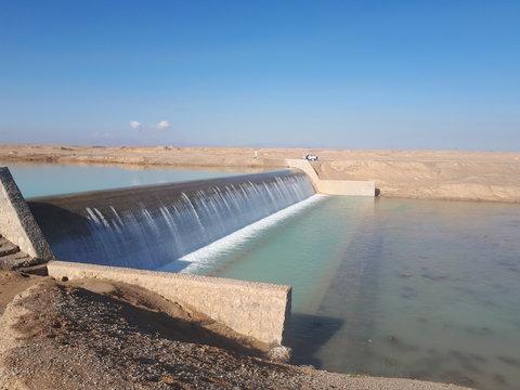 استحصال ۶۵ میلیون مترمکعب رواناب در سازههای آبخیزداری