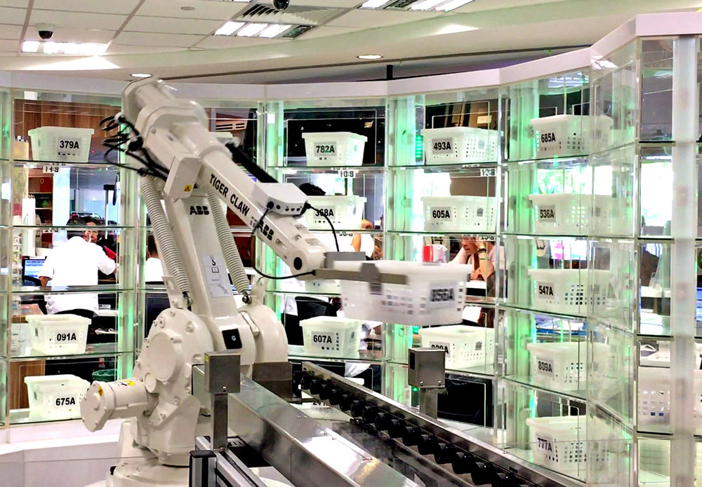 رباتهایی که روزی جای دارو را میگیرد