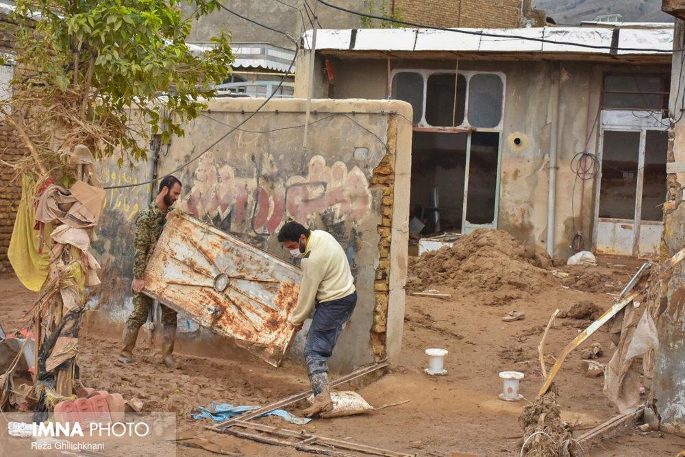 ۲۰۰۰ خانه غیرقابل سکونت در شهرهای سیل زده گلستان
