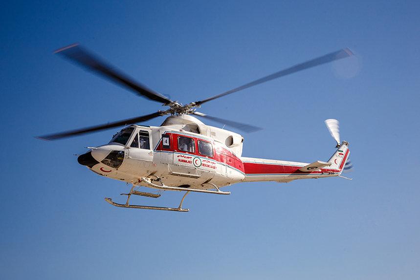 جزئیات حادثه سقوط بالگرد اورژانس