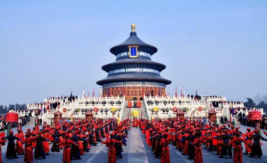 """پیوند فرهنگ و ورزش در """"معبد آسمان"""""""