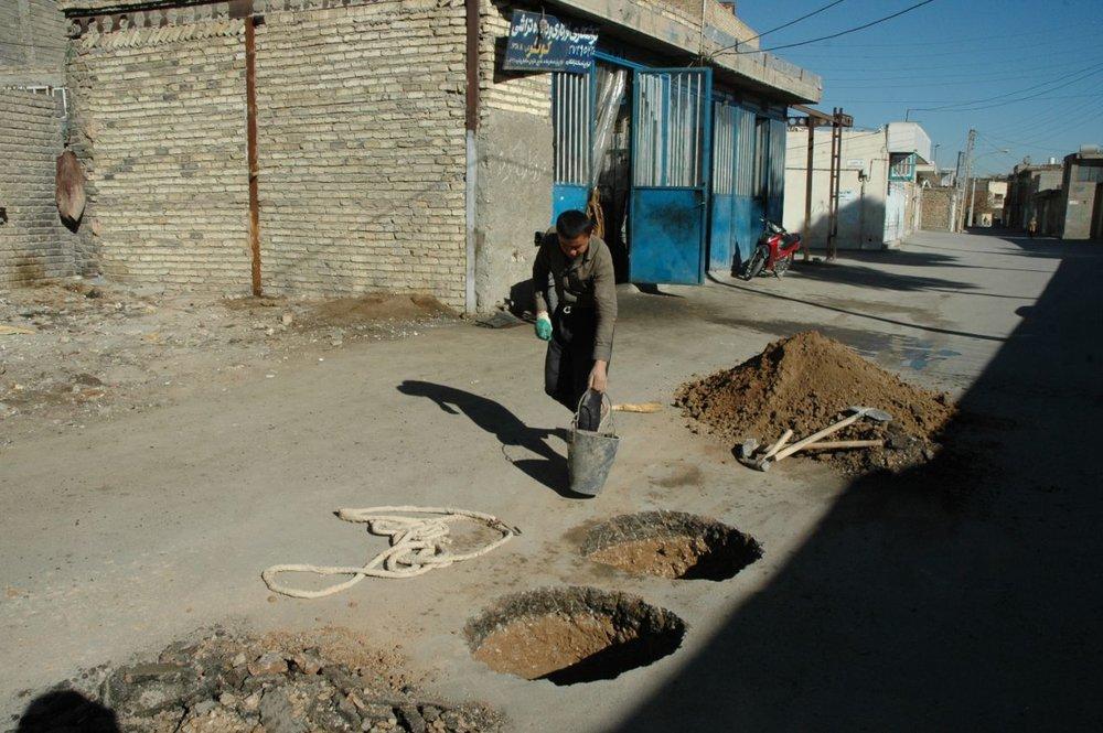 سالانه یکصد محل چاه جذبی در کرمان شناسایی و حفر میشود