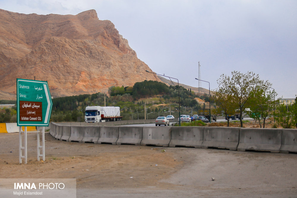 پایان عملیات بتنریزی پروژه سردار شهید سلیمانی