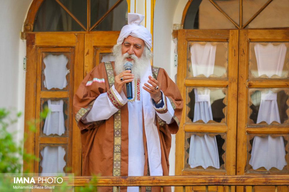 اجرای مراسم شاهنامه خوانی در اراک