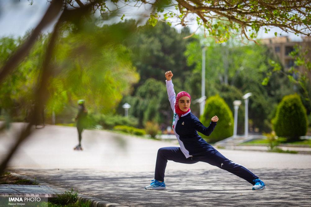 زهرا کیانی،جوان موفق اصفهانی