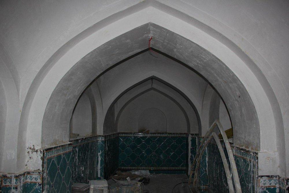 پایان مرمت و بازسازی دو حمام تاریخی در گلپایگان