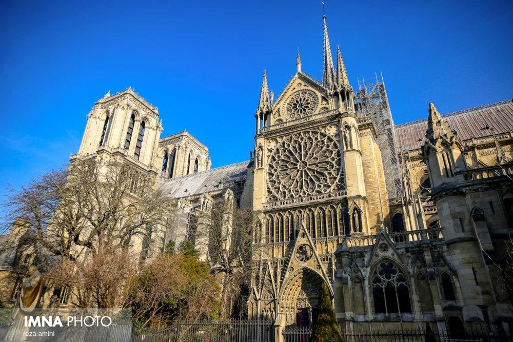 کلیسای نوتردام چه شکلی می شود؟