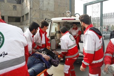 ۹۶ تیم هلال احمر به ۲۰۹ آسیب دیده امدادرسانی کردند