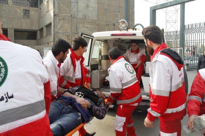 ۶۷ تیم عملیاتی به ۱۰۹ آسیب دیده امدادرسانی کردند