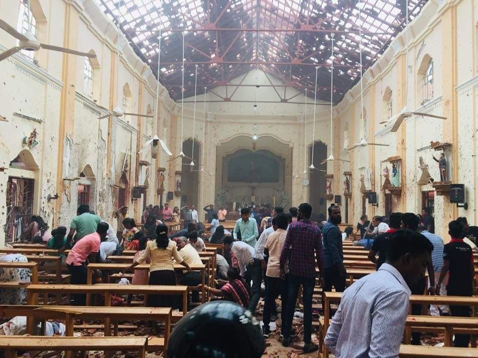 صدها کشته و زخمی در انفجارهای تروریستی سریلانکا