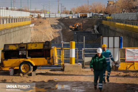 محدودیتهای ترافیکی زیرگذر تقاطع عاشق اصفهانی رفع می شود