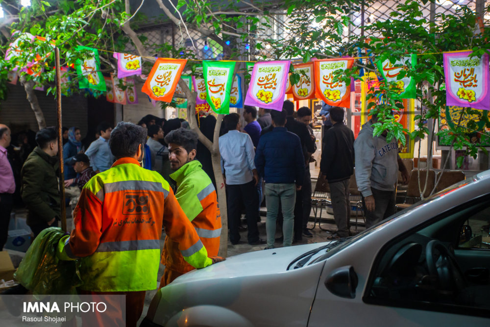 گردهمایی کارگران شهرداری گلپایگان برای تقدیر از شهردار